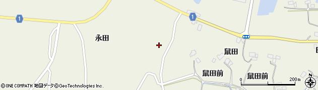 宮城県登米市迫町北方(二分屋敷)周辺の地図