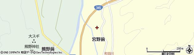 山形県鶴岡市田川(宮野前)周辺の地図