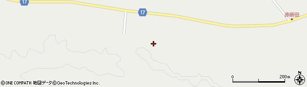 宮城県大崎市岩出山(上真山南山崎)周辺の地図