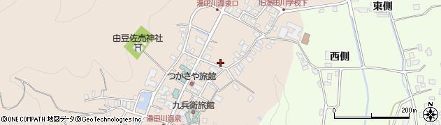 山形県鶴岡市湯田川(湯元)周辺の地図