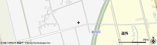 山形県鶴岡市中橋(備川)周辺の地図