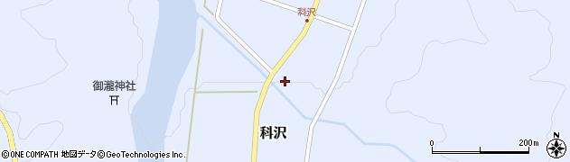 山形県東田川郡庄内町科沢滝ノ沢42周辺の地図