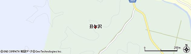 山形県鶴岡市水沢(丑ケ沢)周辺の地図
