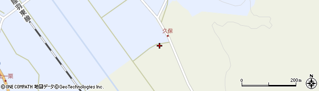 宮城県大崎市岩出山下一栗(西窪)周辺の地図
