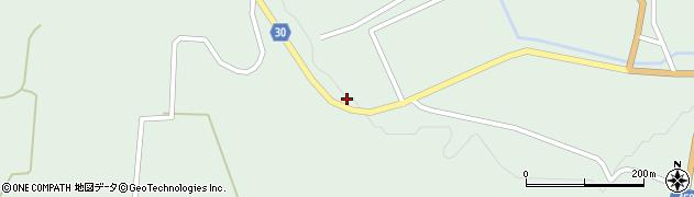 山形県最上郡大蔵村清水1729周辺の地図
