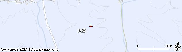 山形県鶴岡市大広(山越)周辺の地図