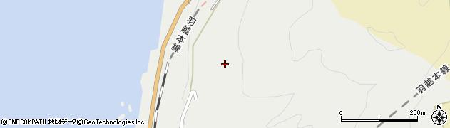 山形県鶴岡市小波渡(李台)周辺の地図