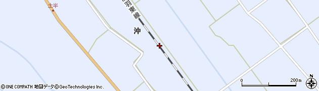 宮城県大崎市岩出山池月(上一栗梨木田)周辺の地図