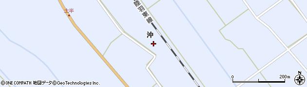宮城県大崎市岩出山池月(沖)周辺の地図
