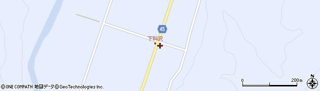 山形県東田川郡庄内町科沢境田75周辺の地図