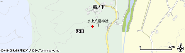 山形県鶴岡市水沢(沢田)周辺の地図