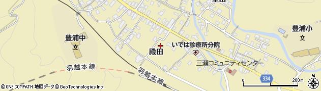 山形県鶴岡市三瀬(殿田)周辺の地図