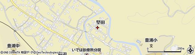 山形県鶴岡市三瀬(堅田)周辺の地図