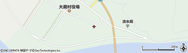 山形県最上郡大蔵村清水2283周辺の地図