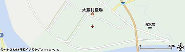 山形県最上郡大蔵村清水2325周辺の地図