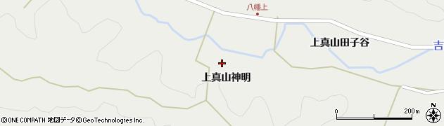 宮城県大崎市岩出山(上真山神明)周辺の地図