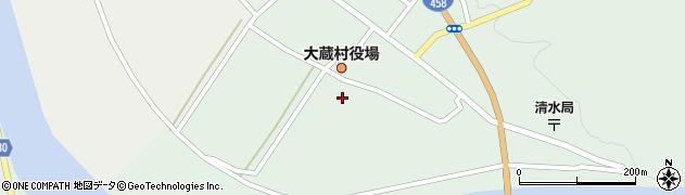山形県最上郡大蔵村清水2309周辺の地図