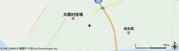 山形県最上郡大蔵村清水2551周辺の地図