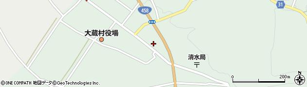 山形県最上郡大蔵村清水2570周辺の地図