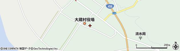 山形県最上郡大蔵村清水2535周辺の地図