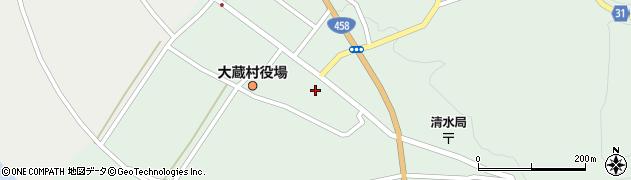 山形県最上郡大蔵村清水2547周辺の地図