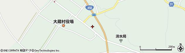 山形県最上郡大蔵村清水2573周辺の地図