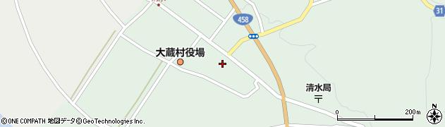山形県最上郡大蔵村清水2545周辺の地図