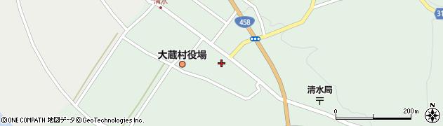 山形県最上郡大蔵村清水2586周辺の地図