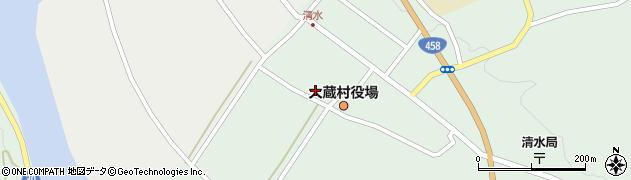 山形県最上郡大蔵村清水2450周辺の地図