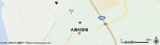 山形県最上郡大蔵村清水2522周辺の地図