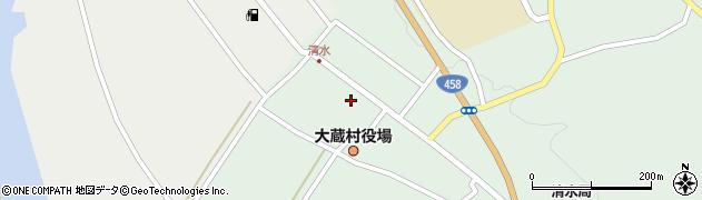 山形県最上郡大蔵村清水2521周辺の地図