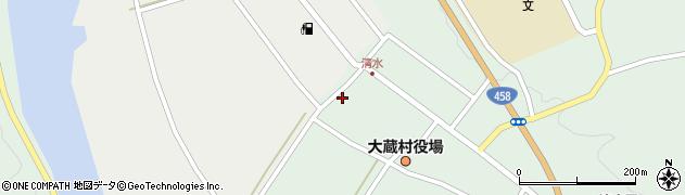 山形県最上郡大蔵村清水2504周辺の地図