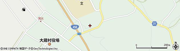 山形県最上郡大蔵村清水2805周辺の地図