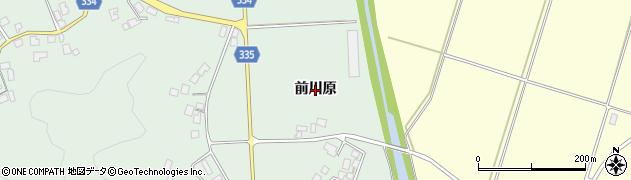 山形県鶴岡市水沢(前川原)周辺の地図