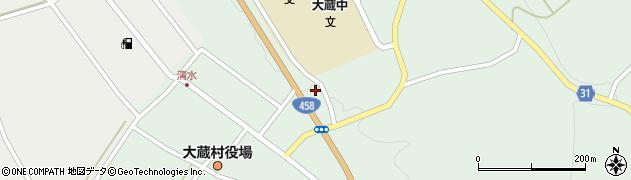 山形県最上郡大蔵村清水2881周辺の地図