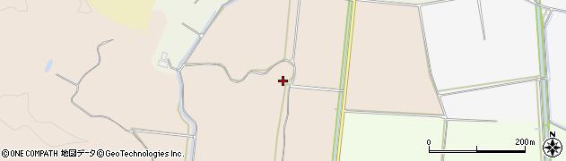山形県鶴岡市湯田川(砂子田)周辺の地図
