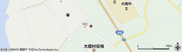山形県最上郡大蔵村清水2600周辺の地図