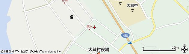 山形県最上郡大蔵村清水2602周辺の地図