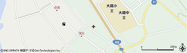 山形県最上郡大蔵村清水2610周辺の地図