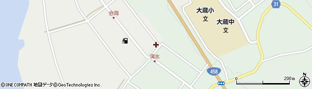 山形県最上郡大蔵村合海3周辺の地図
