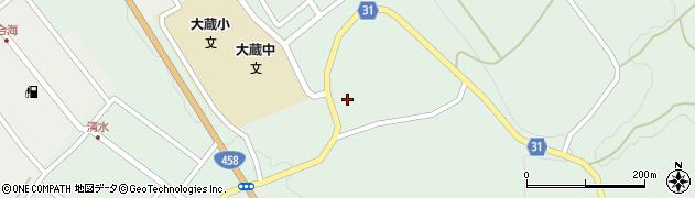 山形県最上郡大蔵村清水2854周辺の地図