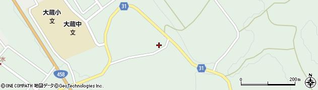 山形県最上郡大蔵村清水2895周辺の地図