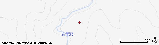 宮城県大崎市鳴子温泉(奥羽岳)周辺の地図