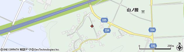 山形県鶴岡市水沢(木ノ下)周辺の地図
