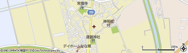 山形県鶴岡市外内島明神川原周辺の地図