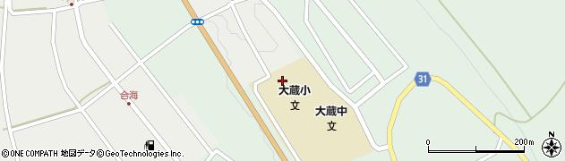 山形県最上郡大蔵村清水2688周辺の地図