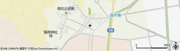 山形県鶴岡市森片(前田)周辺の地図
