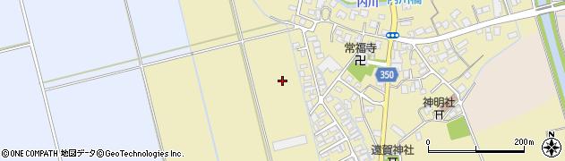 山形県鶴岡市外内島(石名田)周辺の地図