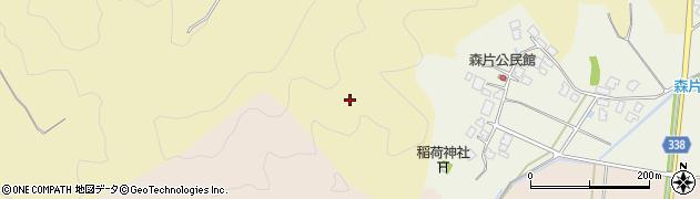 山形県鶴岡市中清水(柿木沢)周辺の地図