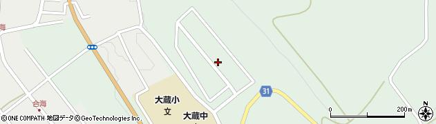 山形県最上郡大蔵村清水3427-35周辺の地図